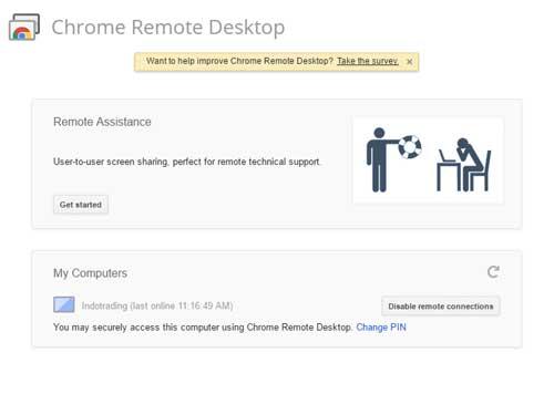 Cara Menggunakan Chrome Remote Desktop