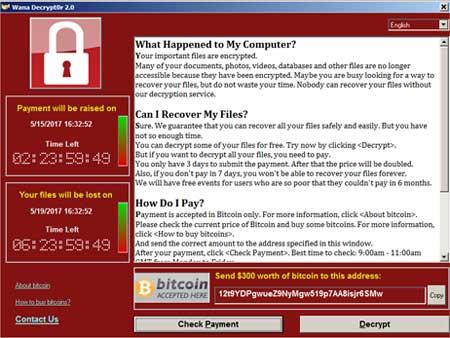 Cara Melindungi Komputer Dari Ransomware WannaCry