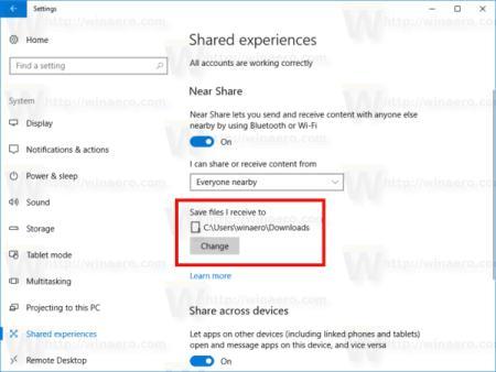Berbagi File Semakin Mudah dengan Windows 10 Near Share
